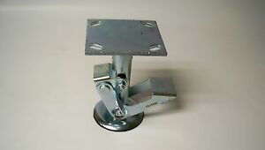 new Albion 16lf0680 16 Series Floor Lock 6 Caster 7 1 4 Caster Height