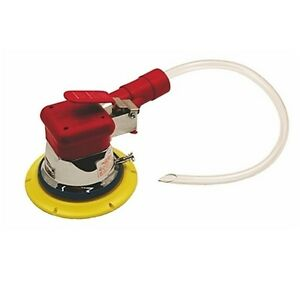 Hutchins Vacuum Assist Random Orbital Sander With 3 16 Offset 6 Psa Pad 4960