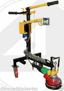 Concrete Grinder Pro Series And Polisher Grind Concrete Thinset Stone Etc
