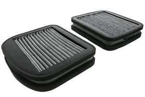 Cabin Air Filter Set Of 2 Activated Charcoal Carbon Filters For Mercedes
