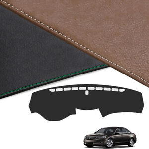 Custom Made Leather Edition Dashboard Cover For Honda Accord 2008 2012 8th