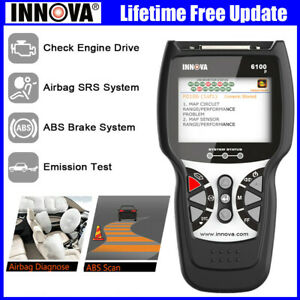 Innova Abs Airbag Reset Obdii Diagnostic Scanner Engine Code Reader Scan Tools