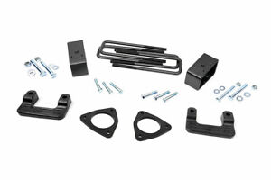 Rough Country 2 5 Leveling Kit Fits 2007 2018 Chevy Silverado Sierra 1500