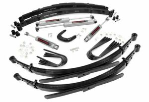 Rough Country 245 20 4 Lift Kit For Chevy 77 87 1 2 Ton Pickup 4wd 77 9