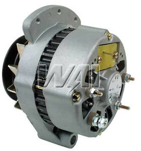 Alternator Ford Tractor 4600 4610 5600 5610 5900 6600 With New Volt Regulator