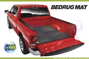 Bedrug Custom Gray 8 2ft Bed Mat For Truck With Without Spray In Liner Bmc07lbs
