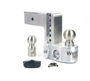 Weigh Safe Ws6 3 Adjustable 21 000 Lbs Hitch Ball Mount W 3 Shaft