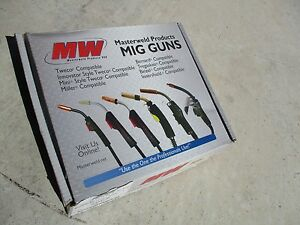 New Master Weld 12 Lincoln Weld Pac Mig Leads Mwlwm Mini