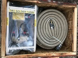 Ohler Centrifugal Fuel Transfer Pump Hose 24v 1 2hp 35gpm Nos