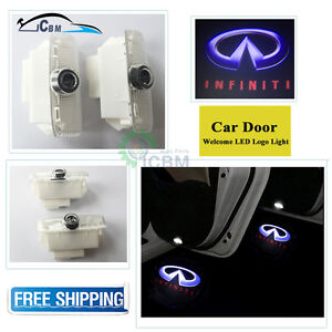 Ghost Shadow Led Projector Lights Door Logo Laser For Infiniti Ex Fx Qx G25 G37