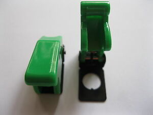 30 Pcs Safety Flip Cover Used For Toggle Switch Green Color New