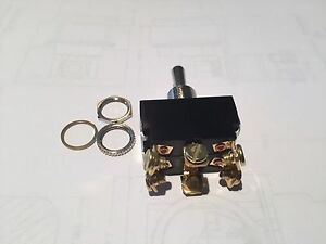 Toggle Switch Dpdt Maintained Box Of 20 Pieces