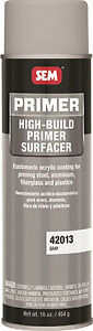 16 Oz Sem Gray Aerosol High Build Primer Surfacer 42013 Automotive Spray Paint