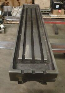 52 5 X 10 5 X 5 Steel Weld 3 T slotted Table Cast Iron Layout Plate