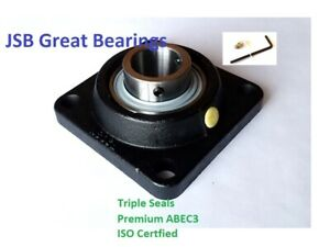qty 2 2 1 2 Ucf213 40 Quality Square Flanged Ucf 213 40 Pillow Block Bearing