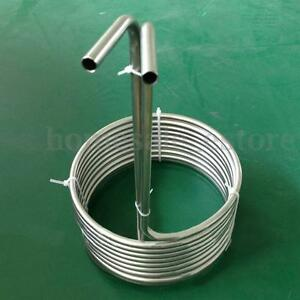 Double Layer 4sizes Stainless Immersion Wort Chiller Great For Home Brewing