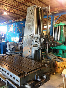 5 Giddings Lewis Horizontal Boring Mill g l Hbm