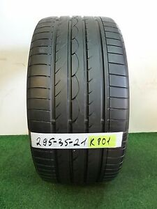 yokohama Advan Sport N 1 295 35 21 107y Used Tire 60 70 K801