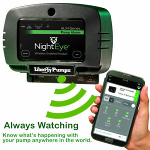 Liberty Pumps Alm 2 eye Nighteye Wireless Sump Pump Alarm Apple Ios Android