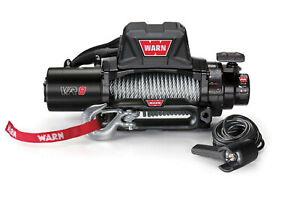 Warn 96800 Vr8 8k 8000lb 12v Hawse Fairlead Electric Winch W 94 Steel Cable