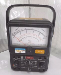 Simpson Electric 260 Series 5p Analog Multimeter bx14