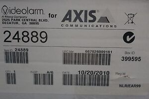 Videolarm Axis Communications 24889 Axis Ach13hb Outdoor Fixed Housing