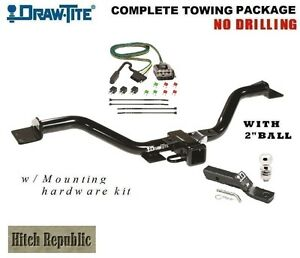 Trailer Hitch Package W 2 Ball For 13 17 Traverse Enclave 13 16 Acadia 75528