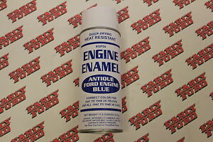 1941 1948 Ford Antique Ford Blue Engine Paint Correct Color For Engines