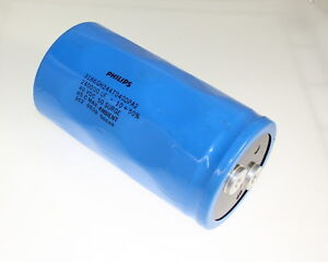 Philips 240000uf 40v Large Can Electrolytic Capacitor 3186gh244t040dpa2