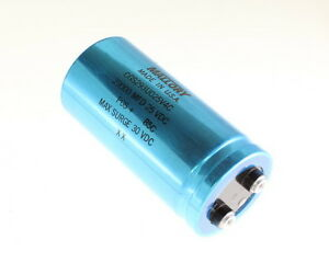 Mallory 29000uf 25v Large Can Electrolytic Capacitor Cgs293u025v4c