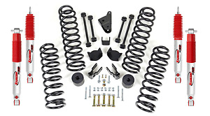 Readylift 4 Coil Spring Lift Kit Rancho Shock Absorbers For Jeep Wrangler Jk