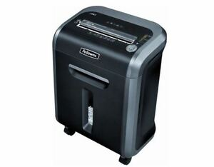 New Fellowes Paper Shredder Cut 18 Sheet Credit Card Cross Office Heavy Duty Cd