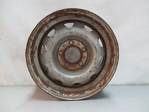 Mopar Rally Wheel Spare Single Rim 14x5 5 Cuda Charger Roadrunner R T J12407