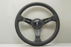 Nardi Deep Corn Steering Wheel 350mm Leather Tri Color Stitching 6069 35 2087