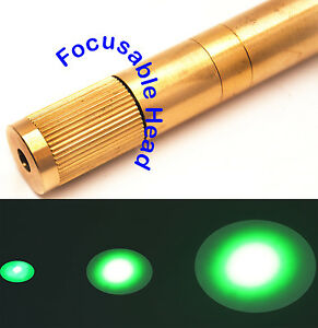 Focusable 532nm 100mw Green Laser Module 3 3 7v adjustable Beam Size green Laser