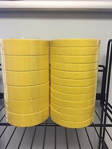 12 Rolls Of 3m 06652 3 4 Yellow Tape 6 Of 06654 1 1 2 Tape Sleeve Of Each