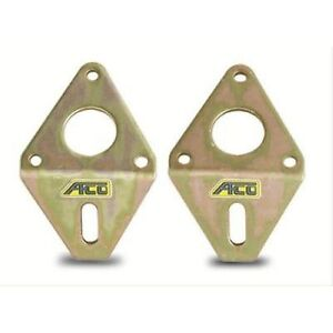Afco Racing Products 80651 Motor Mounts Steel Zinc Chevy Small Block V8 Pair