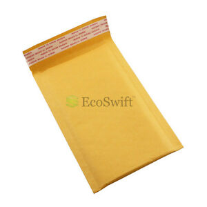 1 15000 000 4x8 ecoswift Kraft Bubble Padded Envelopes 5 X 8 X wide Mailers