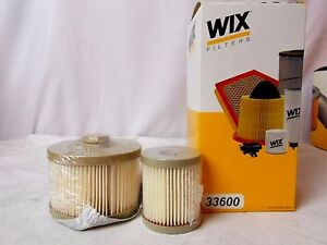 Wix Fuel Filter 33600 Ford E Series 6 0l Turbo Diesel