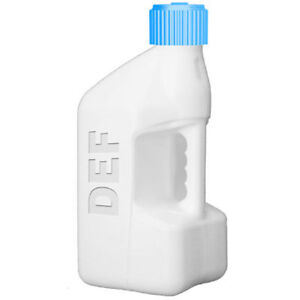 Tuff Jug Wusb def White Fuel Can With Blue Def Standard Cap 5 Gallon