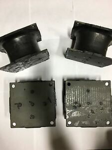 4 Pack Small Vibratory Plate Compactor Rubber Isolator Shock Mount