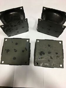 20 Pack Small Vibratory Plate Compactor Rubber Isolator Shock Mount