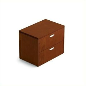 Offices To Go 2 drawer Lateral File With Lock In Toffee