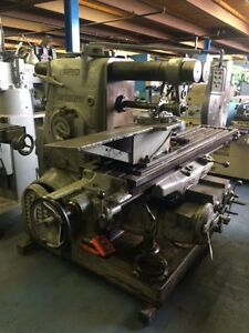 Kearney Trecker Plain Horizontal Milling Machine 4h