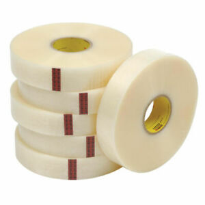Box Bt903371 3m 371 Carton Sealing Tape 2 X 1000 Yd Clear pack Of 6 Rolls