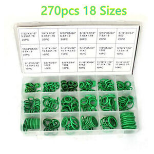 270pcs Ac A c System Seals Oring Santech Air Conditioning Rapid Seal Repair Kit