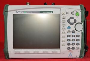 Anritsu Ms2721a Spectrum Analyzer 100 Khz To 7 1 Ghz Handheld