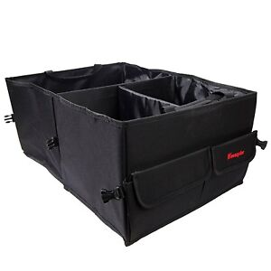 Wawacycles Premium Trunk Organizer Great Cargo Storage Container For Car Truck
