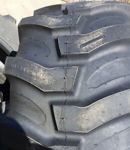 2 tires 21l24 Tires Titan Industrial Tractor Lug R 4 Tire 21 24 12pr Usa 2124