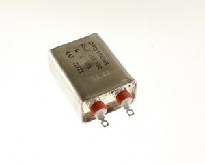 1x 25mfd 1500vdc Hermetically Sealed Oil Capacitor 25uf 1500v Dc 1 500 Volts